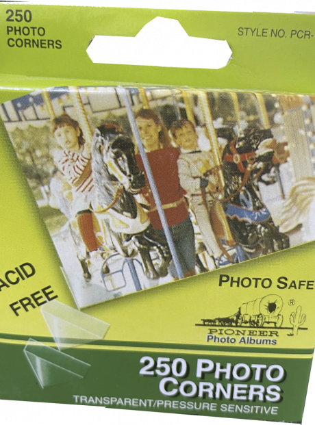 Transparent Photo Corners