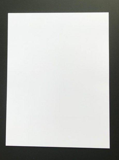 white insert