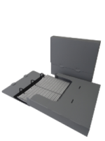 Photo Box & File Tray – Grey