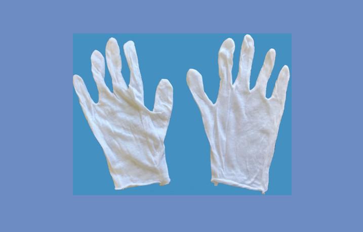 White Cotton Glove